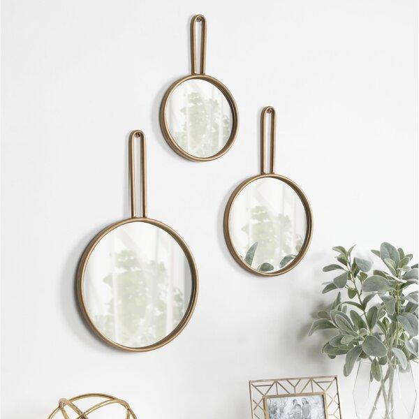bc471aadfb8 Set Of Three Round Mirrors