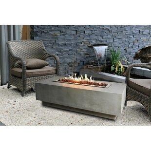 Granville Concrete Fire Pit Table