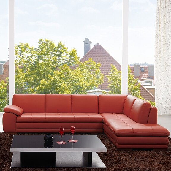 sectional room groups leather sectional sofas youll love wayfair