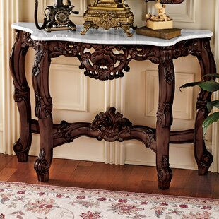 Other Antique Furniture Antique Furniture Independent Console Wall-mounted Shelf Golden Embellishments Antique Baroque Style 100% Guarantee
