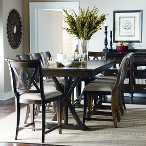 9 Piece Wood Dining Set