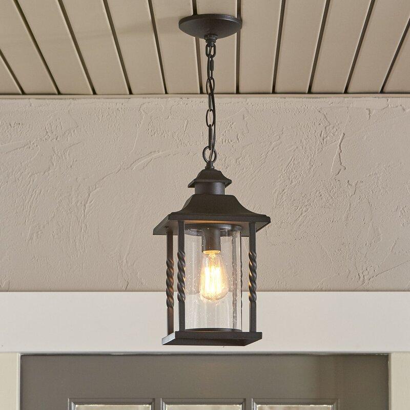Barrow Outdoor Hanging Lantern & Reviews | Birch Lane