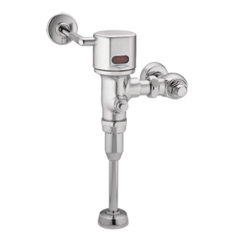 "M-Power 3/4"" Urinal AC Powered Sensor-Operated Electronic Flush Valve"