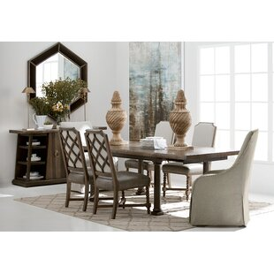 Christchurch Live Edge 7 Piece Extendable Dining Set