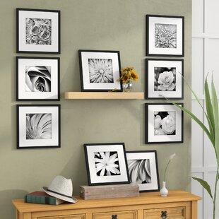 9211f6133d27 Estinnes 9 Piece Wood Picture Frame Set