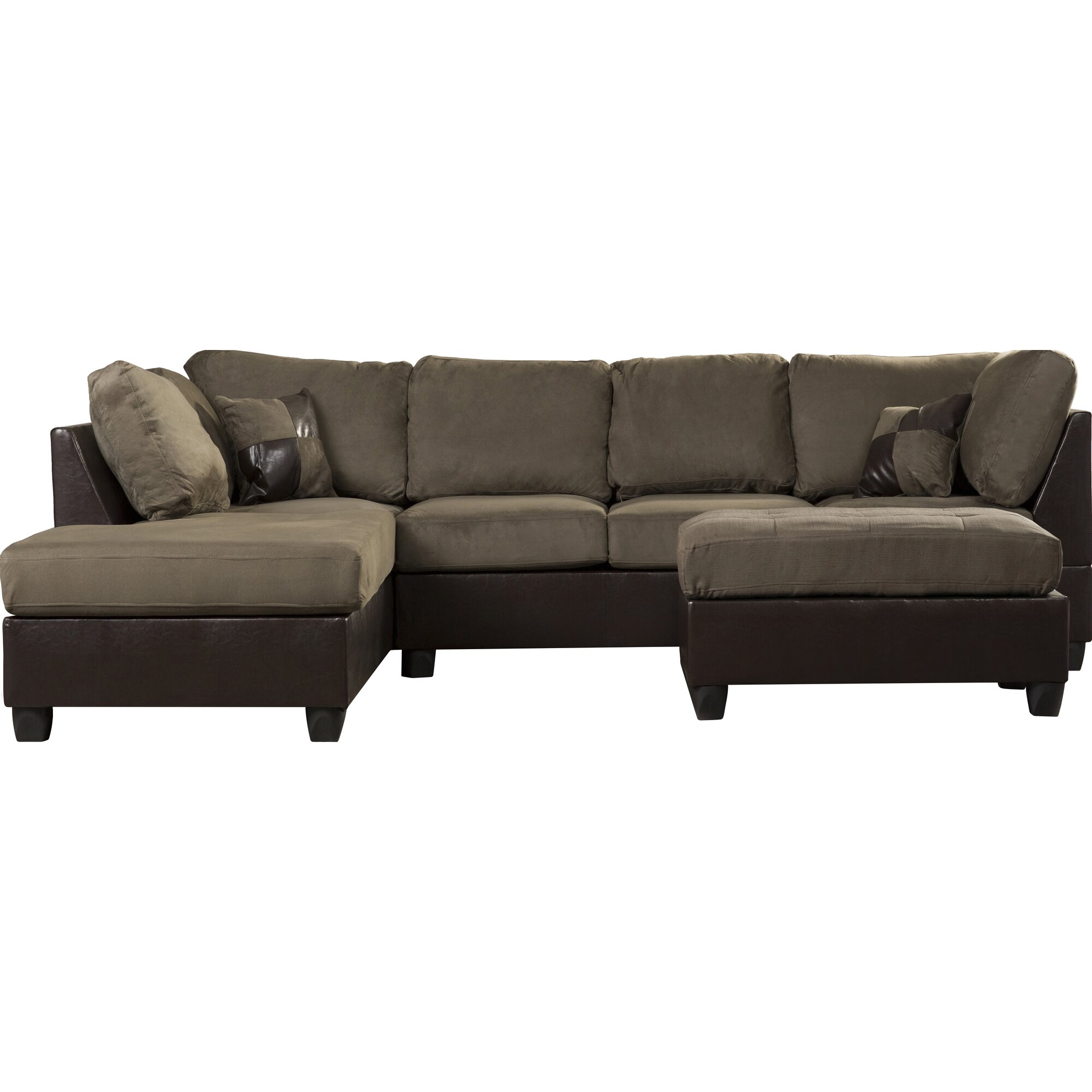 Andover Mills Corporate Reversible Sectional & Reviews