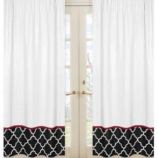 fancy plush design moorish tile curtain. Trellis Curtain Panels  Set of 2 Edward Curtains Wayfair