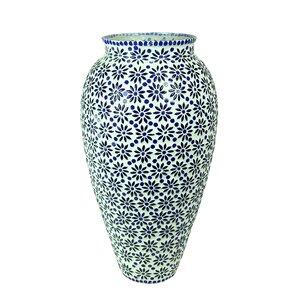 Hallmark Mosaic Floor Vase