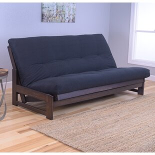 aspen futon and mattress black futon   wayfair  rh   wayfair