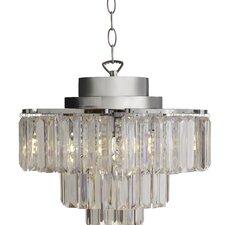 viaan cascading 3light crystal chandelier - Modern Crystal Chandeliers