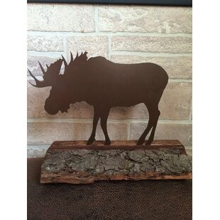 Standley Metal Moose Figurine