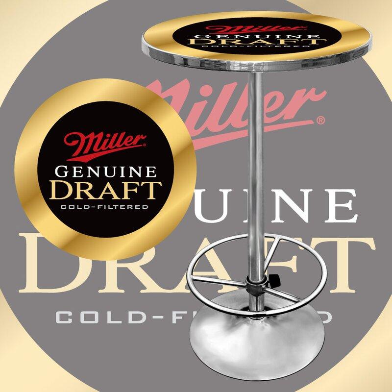 Miller Genuine Draft Pub Table