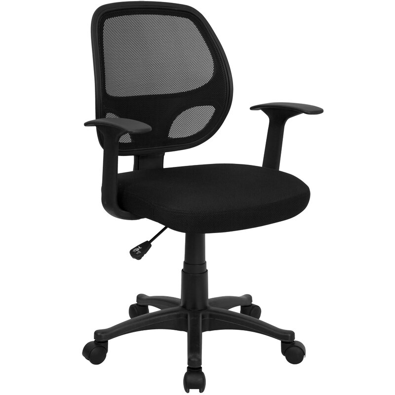 Zipcode Design Alisson Mid Back Mesh Desk Chair Reviews Wayfair