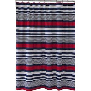 Varsity Stripe Shower Curtain