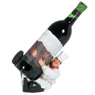 Byromville Character 1 Bottle Tabletop Wine Rack