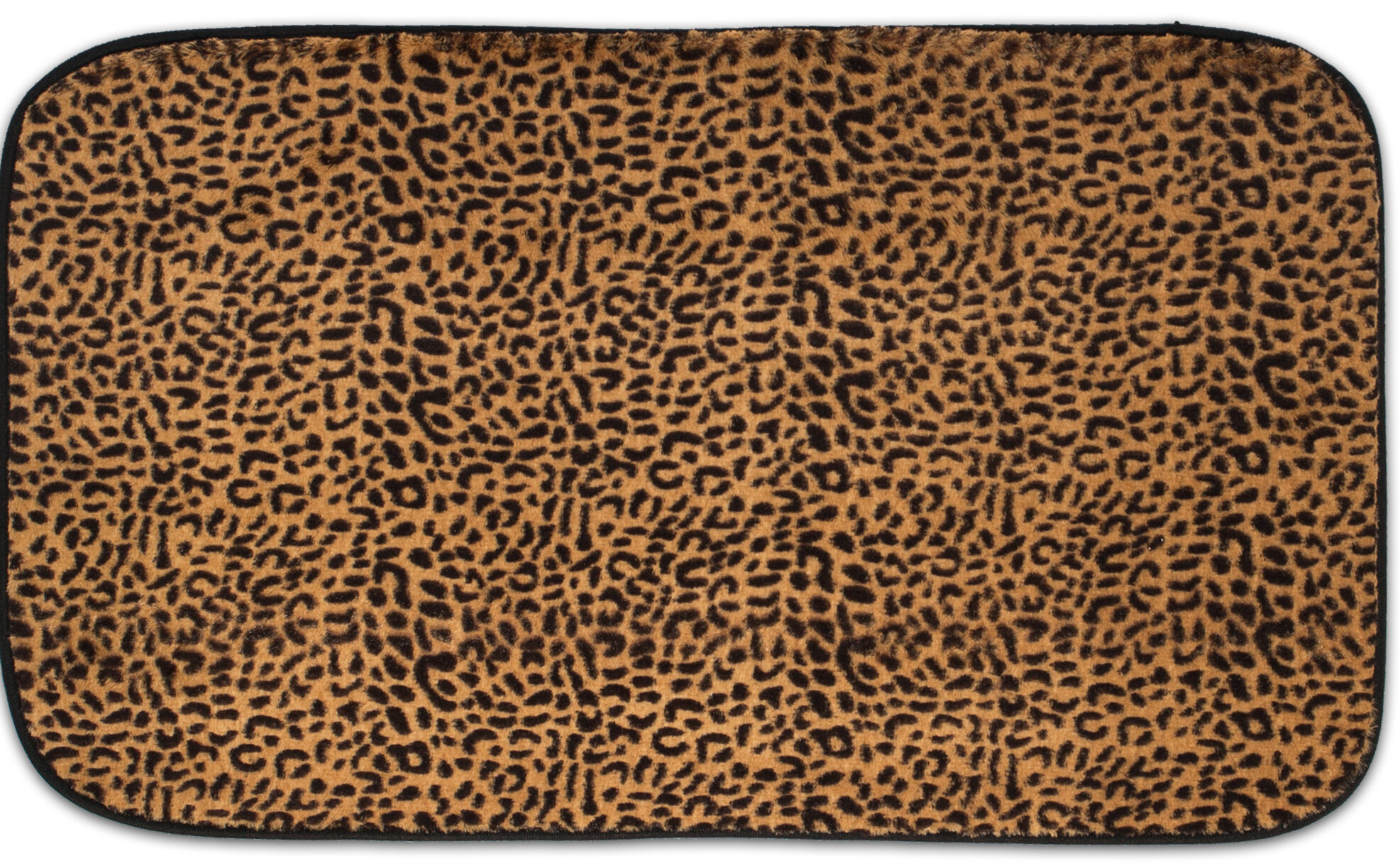 Sweet Home Collection Exotic Leopard Quick Dry Memory Foam Bath Rug Wayfair