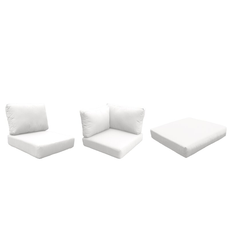 Tegan Outdoor Replacement Cushion Set