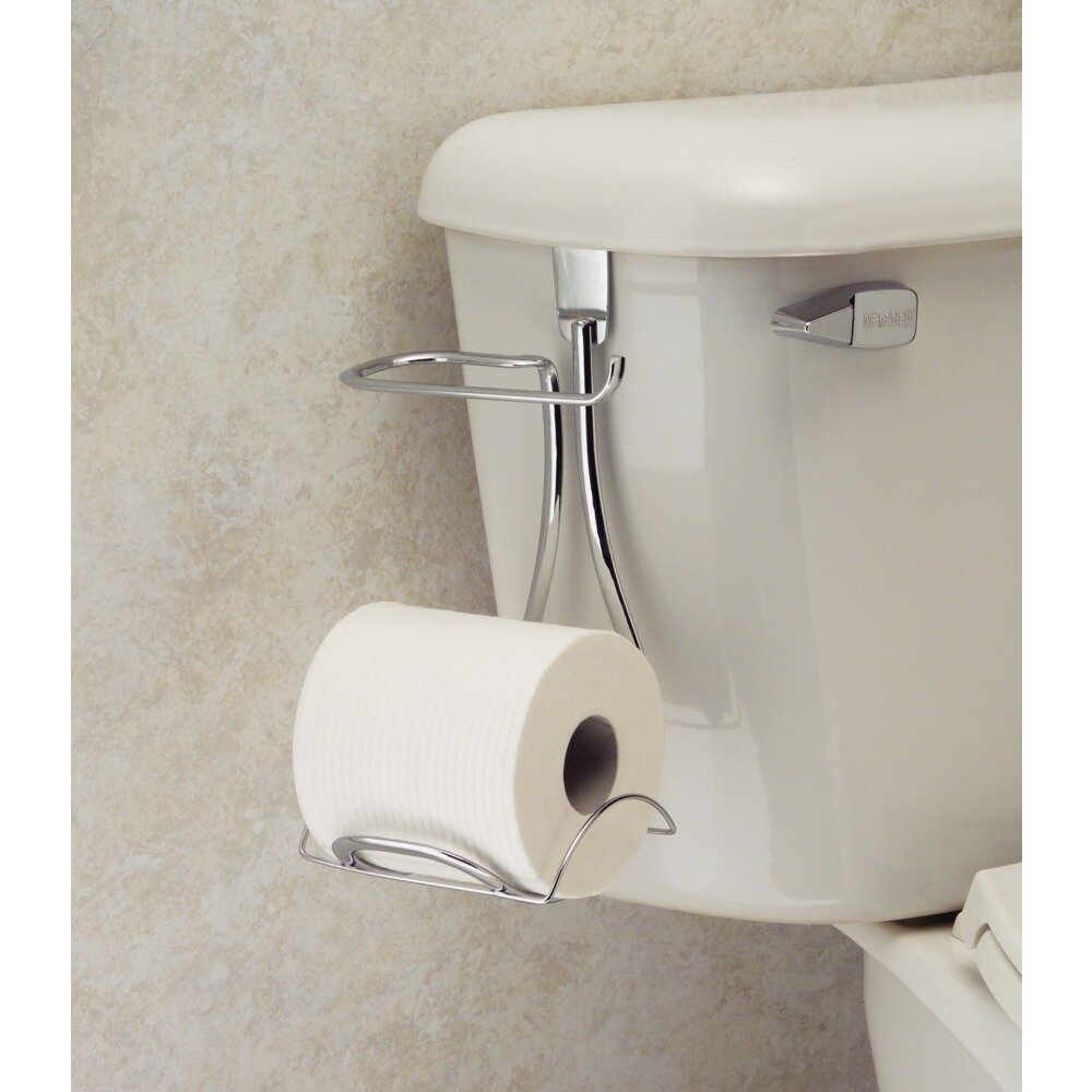 Rebrilliant Eilerman Over Tank Toilet Paper Holder Reviews Wayfair