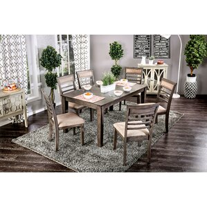 Daniel Transitional 7 Piece Dining Set by Red Barrel Studio