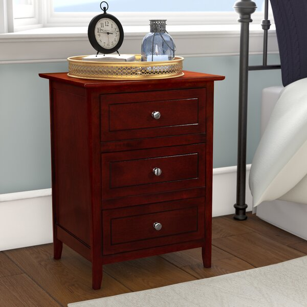 Ovellette 3 Drawer Nightstand Amp Reviews Birch Lane