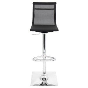 emmaline adjustable height swivel bar stool