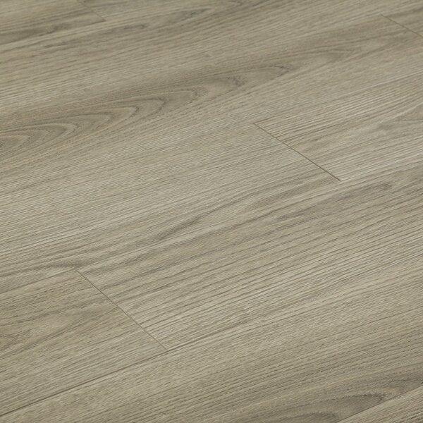 Yulf Design Flooring 8 X 48 12mm Beech Laminate In London Fog Wayfair