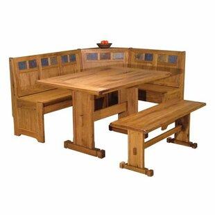 Bench corner kitchen table wayfair sedona corner nook 2 piece dining set workwithnaturefo