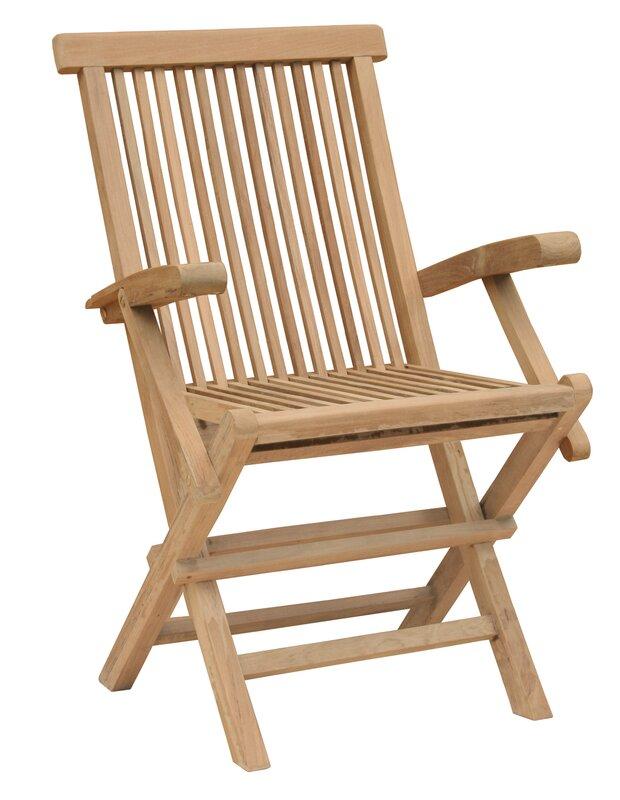 California Folding Patio Dining Chair