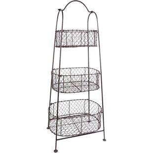 Beauté Basket Tiered Stand