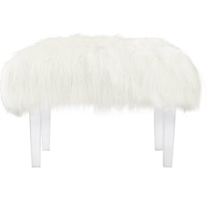 Clear Acrylic Vanity Stool | Wayfair