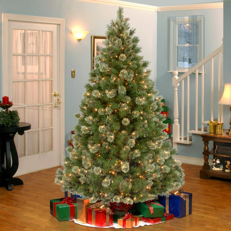 Artificial Christmas Tree Warehouse: National Tree Co. Wispy Willow 7.5' Green Artificial
