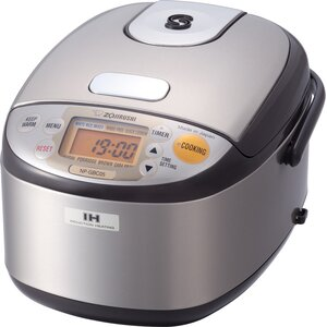 3-Cup Stainless Induction Heating System Rice Cooker and Warmer