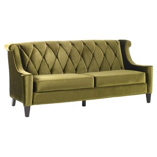 Forest Green Velvet Sofa | Wayfair