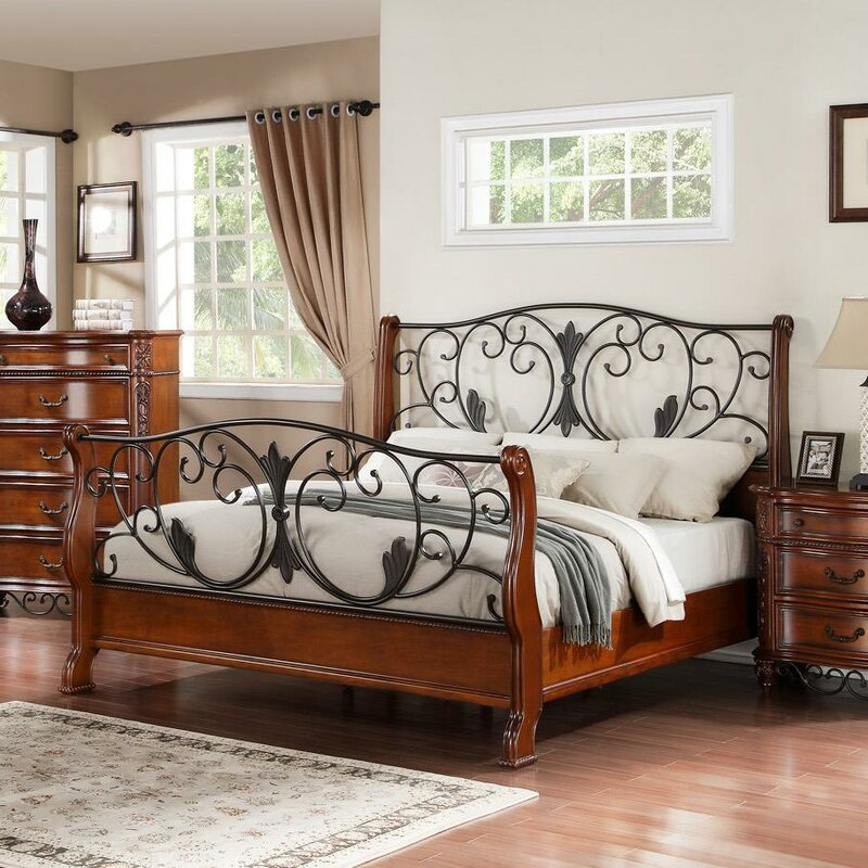 Tuscany Sleigh Bed Size: California King