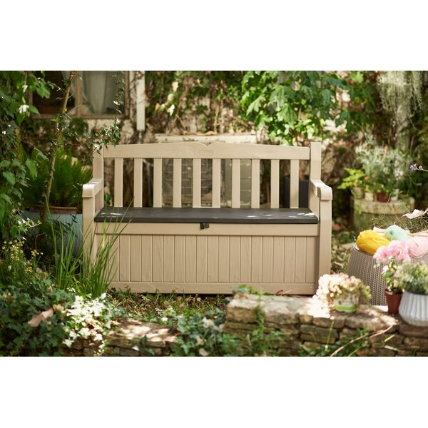 Superbe Outdoor Patio Storage Bench | Wayfair