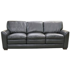 Sacramento Leather Sofa by Coja