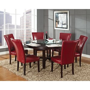 6 seat round kitchen & dining tables you'll love | wayfair