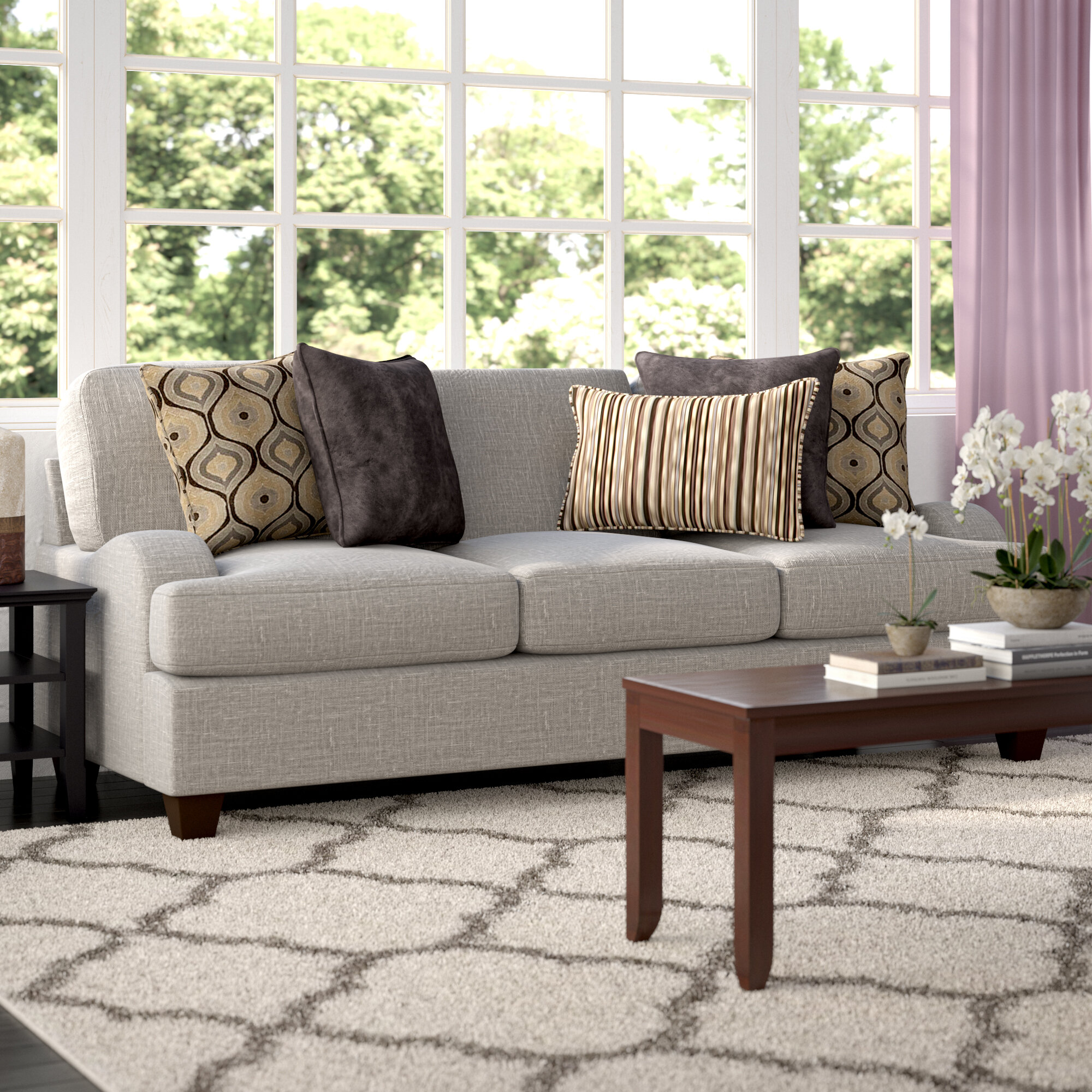 Three Posts Simmons Upholstery Hattiesburg Sterling Sofa Reviews