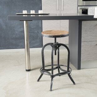 Knowsley Adjustable Height Swivel Bar Stool