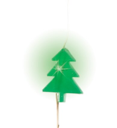 Holiday Christmas Tree Shaped 60 Light Novelty String Lights