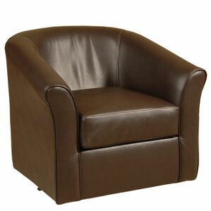Swivel Barrel Chair by Serta Upholstery