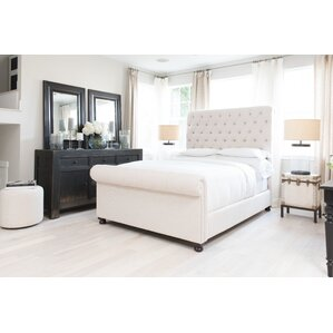 Watkins Fabric California King Upholstered Bed