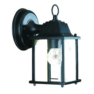 Ledbetter 1-Light Outdoor Cast Aluminium Wall Lantern