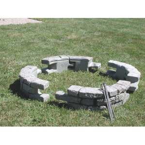 10 in x 24 in. RockLock Curved with Spike..