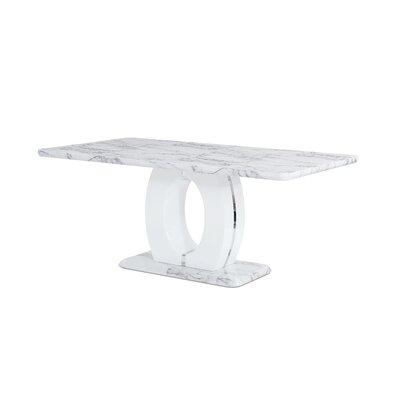 Brayden Studio Kimbell Pedestal Base Dining Table