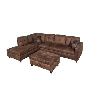 Sectional Sofa With Ottoman | Wayfair