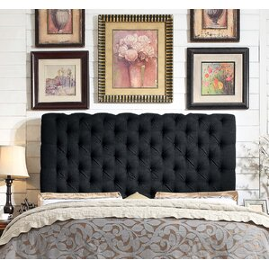 calia queen upholstered panel headboard