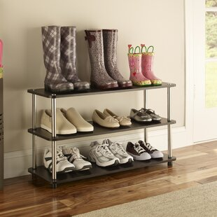 Closet Refresh 12 Pair Shoe Rack By Closetmaid