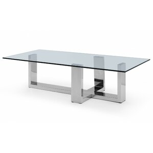 Ables Rectangle Coffee Table by Orren Ellis