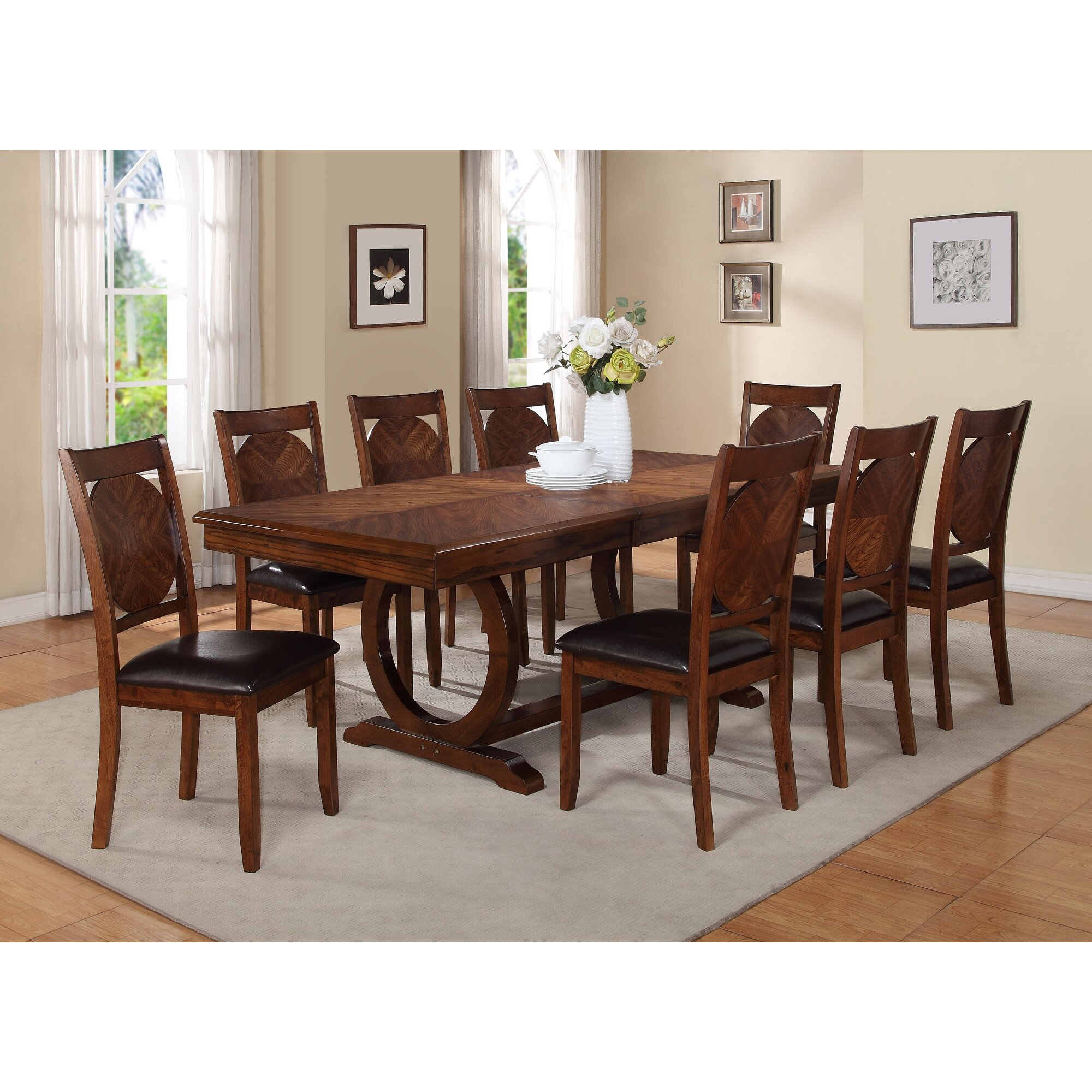 Extending Dining Room Table World Menagerie Kapoor Extendable Dining Table & Reviews  Wayfair